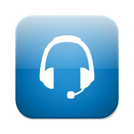 earphones: Headphones sign icon. Earphones button.