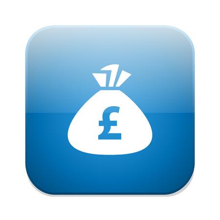 pound: pound money bag