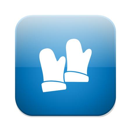 latex glove: gloves  icon Illustration