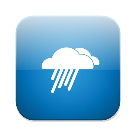 storm clouds: rain icon