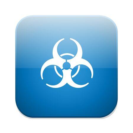 riesgo biologico: icono de riesgo biol�gico