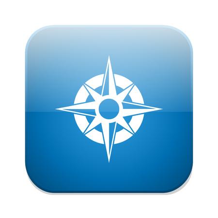 navegación: Icono de navegación Brújula Vectores