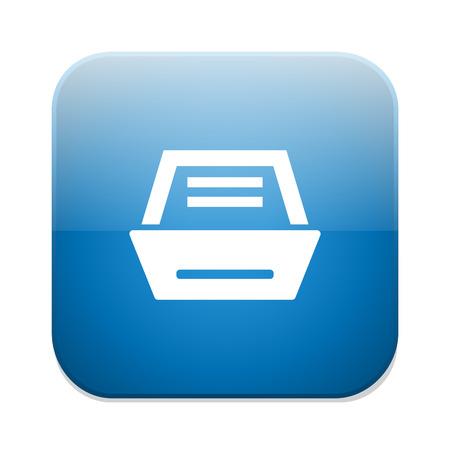 Archivo icono negocio gabinete Ilustración de vector