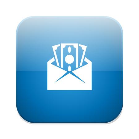 money envelope icon Vector Illustration