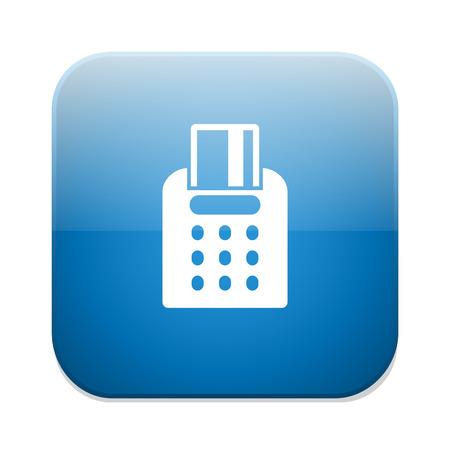 tarjeta visa: icono compra tarjeta visa Vectores