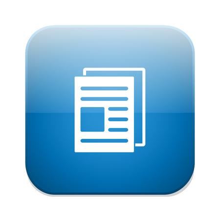 copy: Copy file sign icon. Duplicate document symbol.