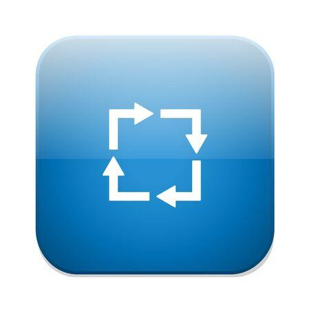 loop: loop icon Illustration