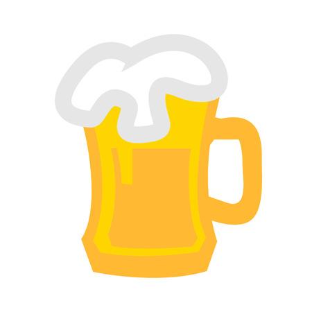 vector beer mug - beer icon, alcohol sign symbol, beer mug