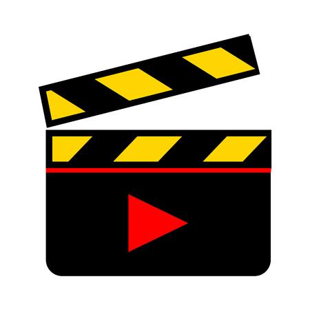 video clip icon Stock Illustratie