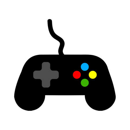 Joystick sign icon. Video game symbol. Illusztráció