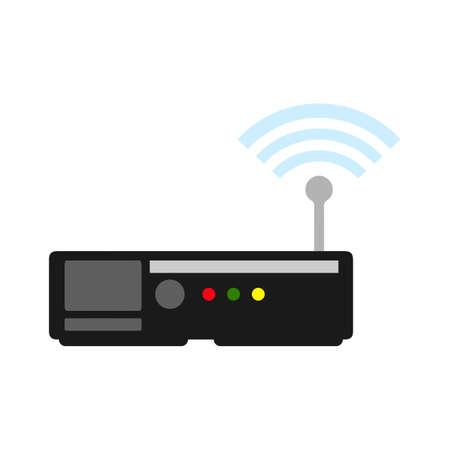 router icon Vektorgrafik