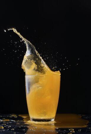 splashing photo