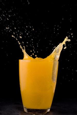 juice splashing