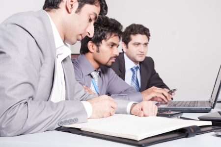 indian professional: businessmen in meeting