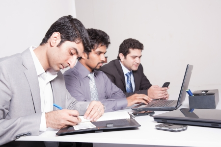 businessmen in meeting  Stock Photo - 14251334