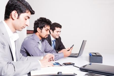 businessmen in meeting  photo