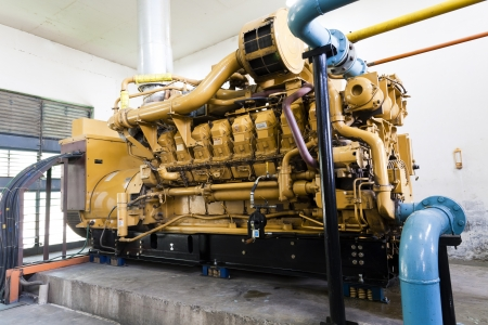 factory power generation: diesel standby generator