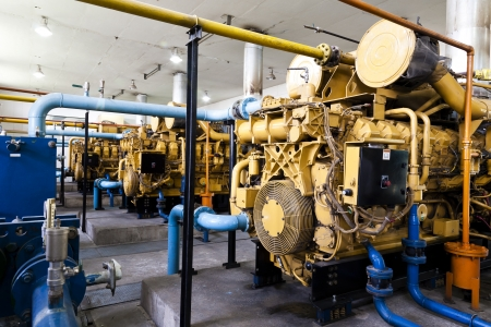 diesel generator: electrical power generator