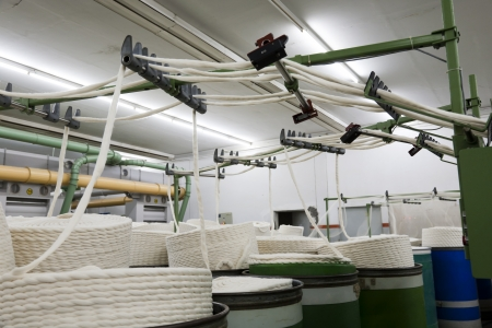 roving: yarn manufacturing machine