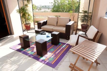 patio furniture: aprire terrazza