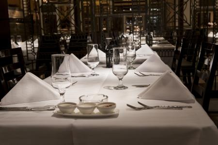 fine wood: interior of a modern design restaurant