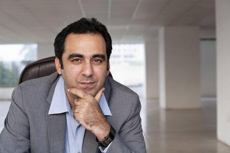 Portrait of a mature Indian muslim businessman