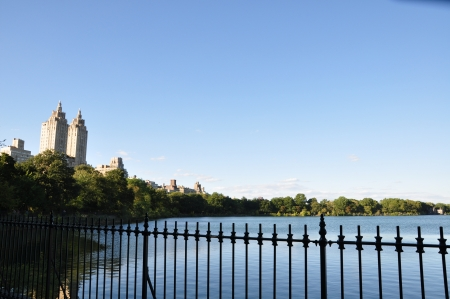 The Jacqueline Kennedy Onassis Reservoir in Central Park photo