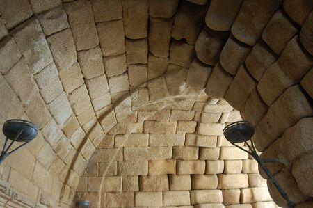 merida: Roman tunnel in a entrance to the theatre of Merida