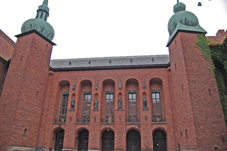 nobel: The building of the Municipal Council for the City of Stockholm in Sweden. It is the venue of the Nobel Prize banquet and one of Stockholms major tourist attractions. Editorial