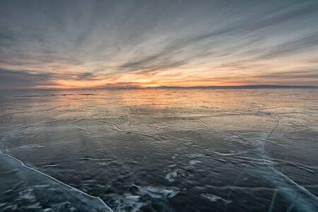 baical: Lake Baikal in winter