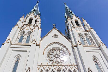 baptist: church and sky