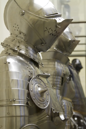 suits of medieval armor