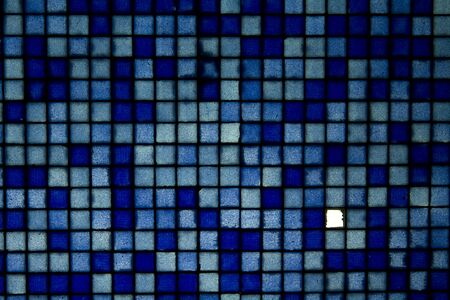 bytes and bytes of data, from a mosaic tile wall, with 1 tile missing