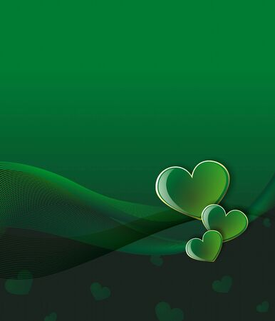 green love background Stock Photo - 4317601