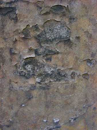 crannied plaster texture of wall Stock Photo - 7123600