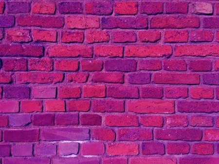 closeup of violet brick wall Stock Photo - 7252434