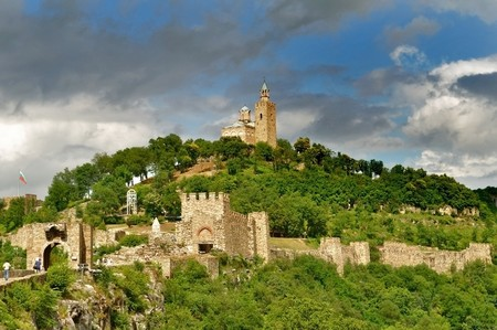 Tsarevets Fortess in Veliko Turnovo, Bulgaria