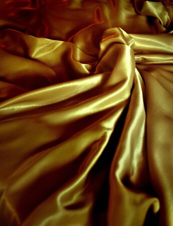 close-up of satin textile for background, clothing material Stock Photo - 7388643