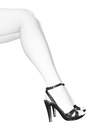 lady`s legs with highheels Stock Photo - 8304383