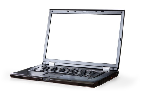 lap top: mobile computer Stock Photo