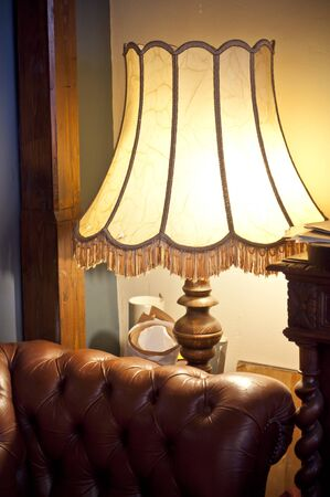 old luxury interior with lamp and sofa Stock Photo - 10105498