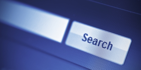 internet searching engine on monitor screen Stock Photo - 18133387