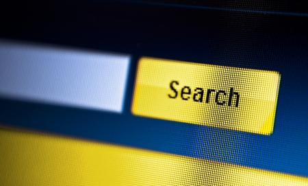 internet searching engine on monitor screen Stock Photo - 18133395