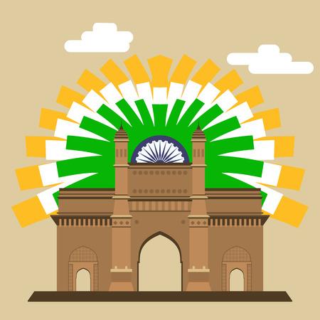 mumbai: Mumbai Gateway Illustration