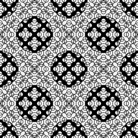 Seamless abstract geometric pattern. Vintage classic texture