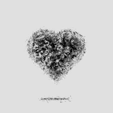 Ash dark heart. Broken relations. Dead Love