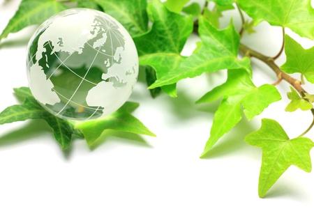 renewable energy: image of ecology Stock Photo