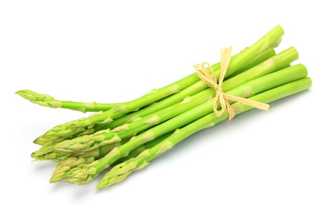 plural number: asparagus  Stock Photo