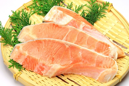 fishery products: silver salmon