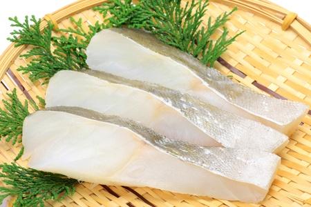 cod fish: slice of cod